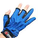 Random Color Two-Finger rybaření Anti-Slip rukavice