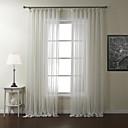 Dva panely Window Léčba Moderní , S proužky Polyester Materiál Sheer Záclony Shades Home dekorace For Okno