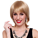 Capless High Quality Synthetic Short Straight Golden Hair Wigs