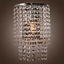 Cristallo Lavare le luci per montaggio a parete,Moderno/contemporaneo E12/E14 Metallo