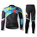 SPAKCT® Biciklistička majica s tajicama Uniseks Dugi rukav BiciklProzračnost / Ugrijati / Quick dry / Vjetronepropusnost / Prednji Zipper