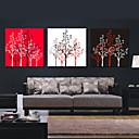 Protezala Canvas Art Botanički Lucky Drveće skup od 3