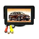 4,3 palcový TFT LCD displej fotoaparátu Skládací Zpětné Car Monitor