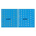 4PCS水転写印刷混合パターンネイルステッカーライン