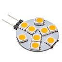 daiwl G4 1.5w 9x5050smd 70-100lm 3000K topla bijela svjetlost je vodio loptu žarulja (12V)