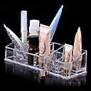 Kutija za šminku Plastična kutija / Kutija za šminku Plastic / Akril Jednobojni 17.0 x 6.0 x 4.0 Neocakljen porculan