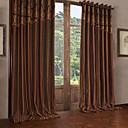 2パネル ウィンドウトリートメント 欧風 新古典主義 , 縞柄 ポリエステル 材料 カーテンドレープ ホームデコレーション For 窓