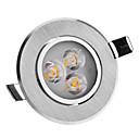 4W 3-LED visoke snage 240LM 3000K Warm White Light LED žarulja oblaka (220-240V)