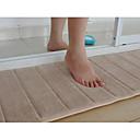 """Bath Mat Memory Foam béžová proužek 16 x 24 """"Non Kompaktní"""