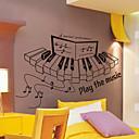 Glazba Piano zidne naljepnice