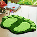 "Bath Rug Footprint Uzorak 16x24 ""Green"