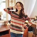 HYS Ženska geometrijski uzorak Sweater