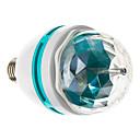 E27 3W 210LM RGB LED Globe Žárovka plochy (85-265V)