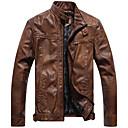 Pánské Vintage Old Leather Jacket
