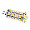 6W G4 LED corn žárovky T 30 SMD 5050 480 lm Teplá bílá DC 12 V