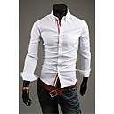 DD oblečení Móda Simple Solid Color košile (bílá)