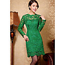 Duolabana Gorgeous Long Sleeve Slim Bodycon Dress