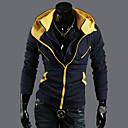 Muška jakna s kapuljačom,kontrast boja,tanka