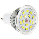5W GU10 LED reflektori 15 SMD 5730 100-550 lm Toplo bijelo Može se prigušiti AC 220-240 V