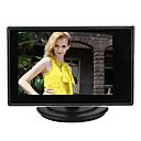 3,5 inčni TFT LCD Mali podesivi monitor za CCTV kamere i automobila DVR s ulazom AV RCA video Sound