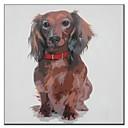 Ručno oslikane Oil Painting Animal štene s ogrlica