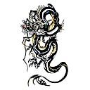 5 Kom Crna Dragon Waterproof privremenu tetovažu (10.5cm * 20.5cm) HM229