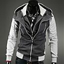 Muška moda casual dugi rukav Mješoviti Boje Hoody Jacket