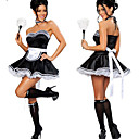 Cosplay Nošnje Odore Festival/Praznik Halloween kostime Obala / Crn Haljina / Okovratnik / Šeširi Halloween / Karneval Polyester