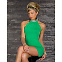 Ženska Aound Collar Moda Paket Stražnjica Dress