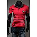 Pánská móda límec Slim POLO košile
