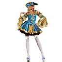 Cosplay Nošnje / Kostim za party Movie & TV Theme Costumes Festival/Praznik Halloween kostime Plav Kolaž Haljina / ŠeširHalloween /