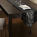 Moderan dizajn srebrne šljokice stol trkač