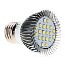 5W E26/E27 LED corn žárovky MR16 20 SMD 2835 370-430 lm Chladná bílá AC 220-240 V
