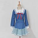 Inspirirana Izvan granice Naše Mitsuki Anime Cosplay nošnje Cosplay Suits Kolaž Plava Top / Suknja / Luk