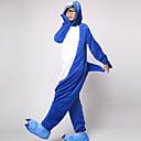 Kigurumi Pidžame Shark Hula-hopke/Onesie Halloween Zivotinja Odjeća Za Apavanje Obala / Ink Blue Kolaž Coral runo Kigurumi Uniseks
