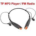 PCのためのTFスロットFMラジオ付きヘッドフォンのUSBネックバンドスポーツ