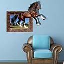 3D konja zidne naljepnice Naljepnice Zid