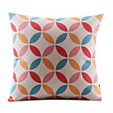 幾何コットン/リネンDecorrative枕カバーの葉