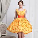 Ženska Slatka Daisy Ispis Retro haljina