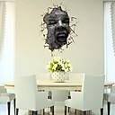 3D Face zidne naljepnice Naljepnice Zid