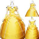 Cosplay Nošnje / Kostim za party Princeza Festival/Praznik Halloween kostime Bijela Jednobojni Haljina / Rukavice Halloween / Karneval