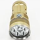照明 LED懐中電灯 / ヘッドランプ / ランタン&テントライト / HID懐中電灯 / ダイビング用懐中電灯 8000 Lumens ルーメン モード Cree XM-L T6 18650 防水 / 充電式 / 耐衝撃性 / 滑り止めグリップ / ストライクベゼル