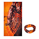 ハット バンダナ ネックゲートル バイク 高通気性 防風 抗紫外線 耐久性 サンスクリーン 女性用 男性用 男女兼用 ブラック オレンジ ポリエステル