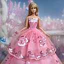 Party/Večer Haljine Za Barbie lutka Roza Haljine Za Djevojka je Doll igračkama