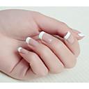 10x50pcs mixs veličina bijeli osmijeh nail art francuski savjeta