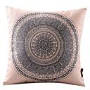komplicirano krug pamuka / lana dekorativni jastuk pokriti