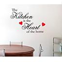 jiubai ™ kuhinja Citat kući ukras Zid naljepnica naljepnica