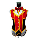 Inspirirana Ljubav uživo Hanayo Koizumi Anime Cosplay Kostimi Cosplay Suits Kolaž Crvena Kratki rukav Suknja