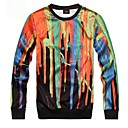 Men's Fashion Print Colourful 3D Sweatshirt