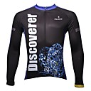 PALADIN® Biciklistička majica Muškarci Dugi rukav Bicikl Prozračnost / Quick dry / Ultraviolet Resistant Majice 100% poliesterProljeće /